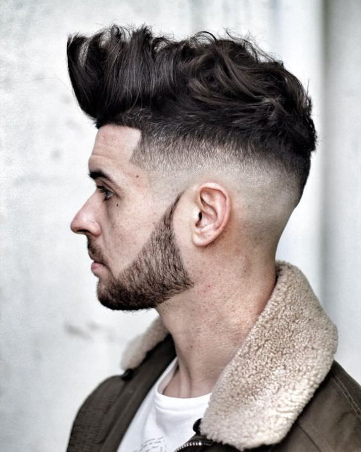 Stylish Taper Fade Hairstyle