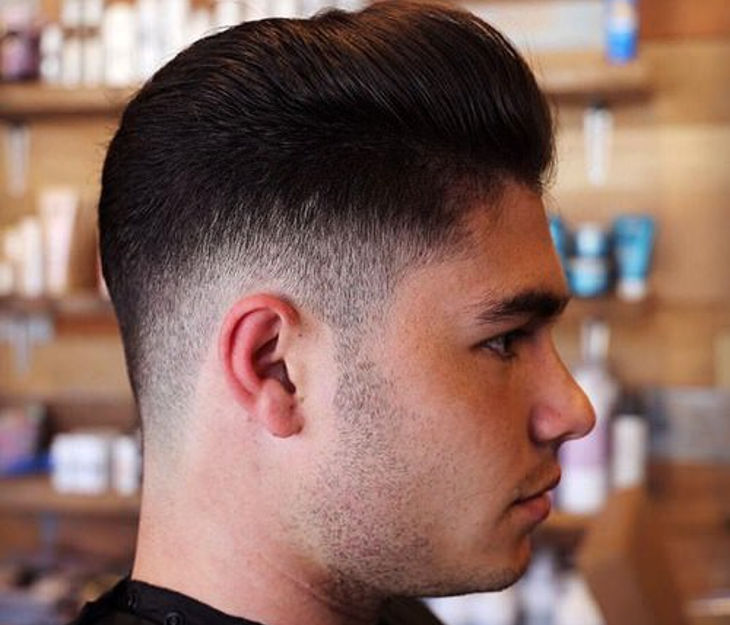 thinning taper fade haircut