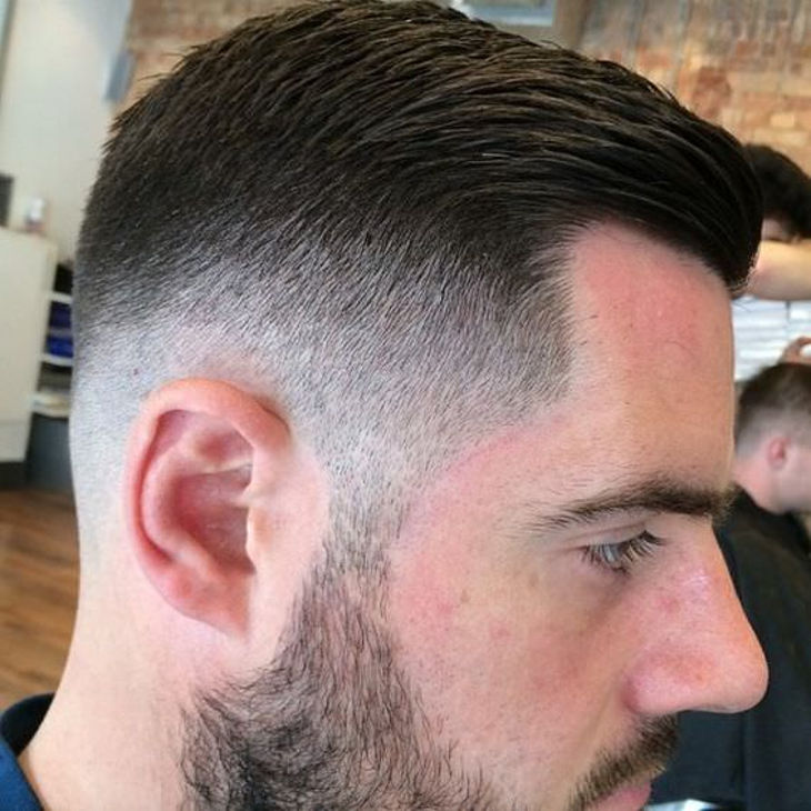 Far Side Taper Fade Haircut Design