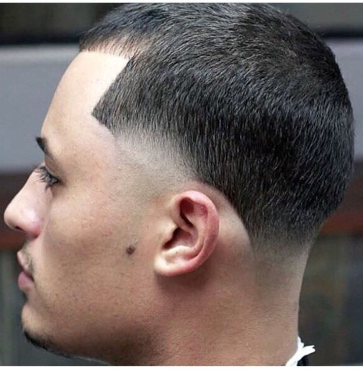 Bald Taper Fade Hairdo