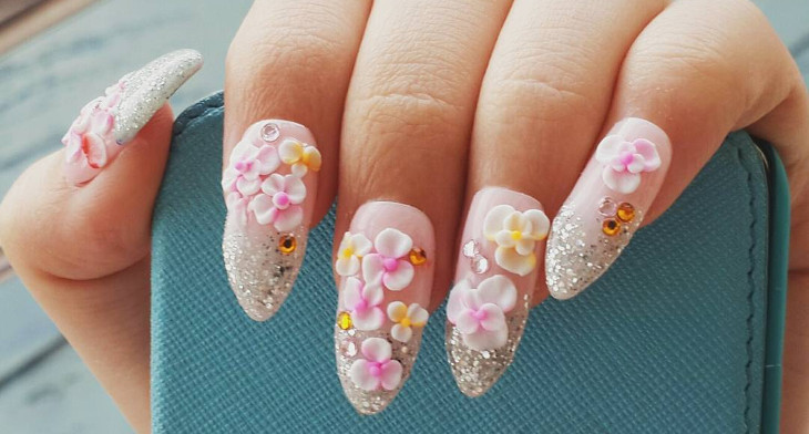 30+ 3D Acrylic Nail Art Designs, Ideas | Design Trends - Premium PSD ...