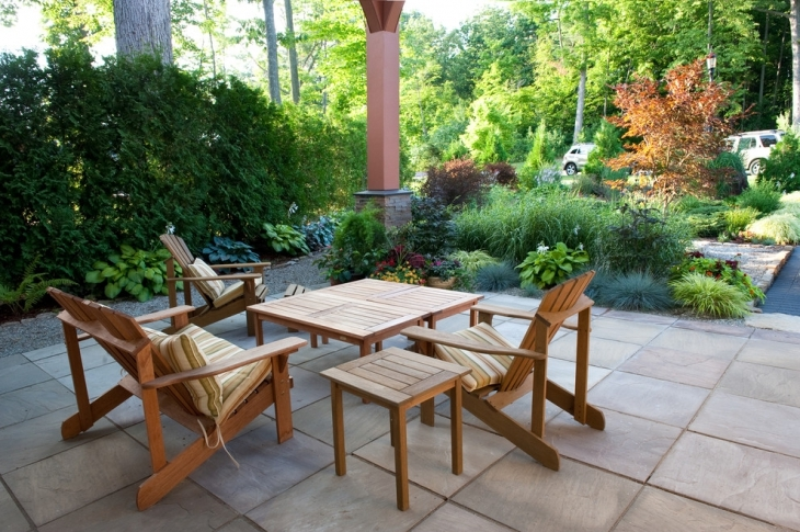 simple furniture for outdoor