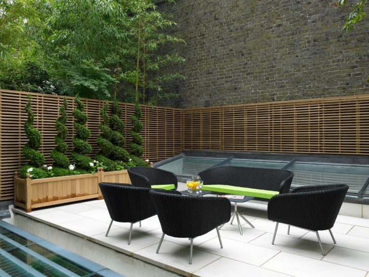 awesome black patio furniture