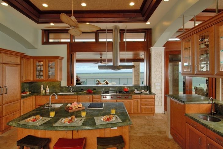 Beach Style Kitchen Design