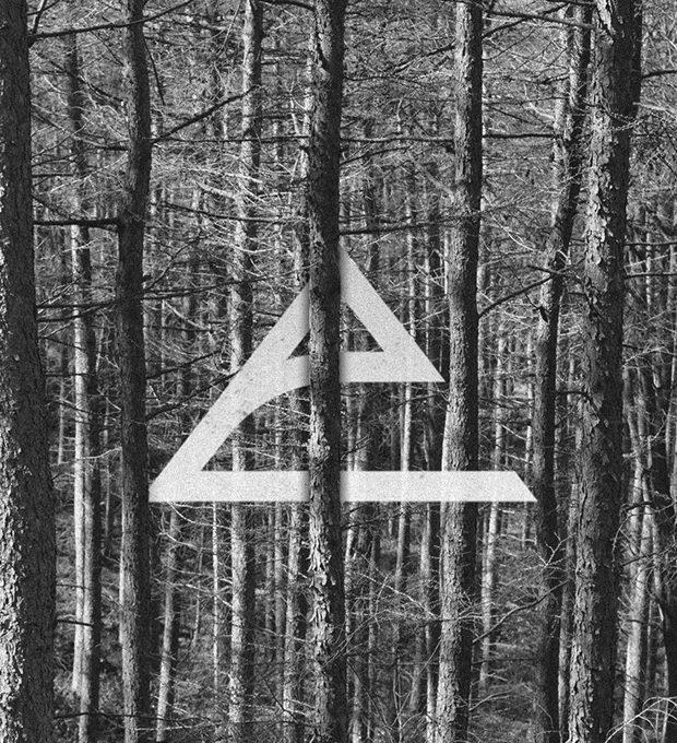 artistic mountain logo