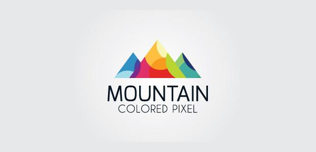 cool studio mountain logo