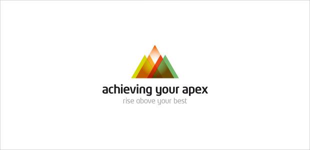 creative mountain logo