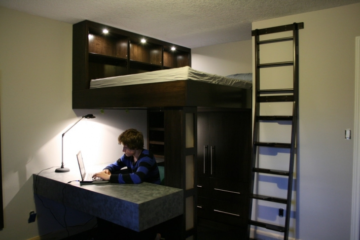 Loft Bed Designs For Small Bedroom
