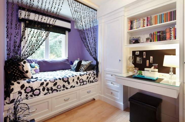 Awesome Decorated Small Bedroom