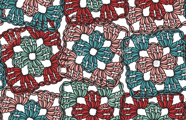 amazing crochet seamless pattern