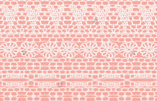 Pink Seamless Lace Crochet Pattern