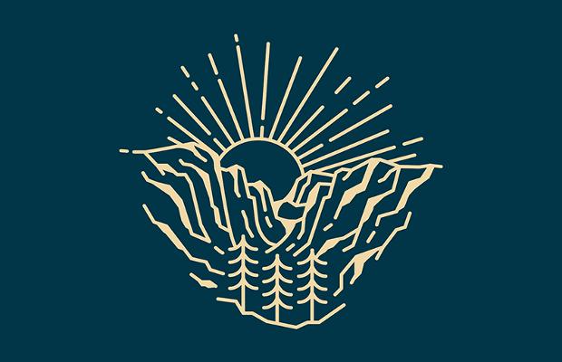 25  mountain logo designs  ideas  examples