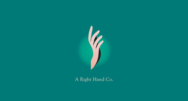 20+ Hand Logo Designs, Ideas, Examples | Design Trends - Premium PSD ...