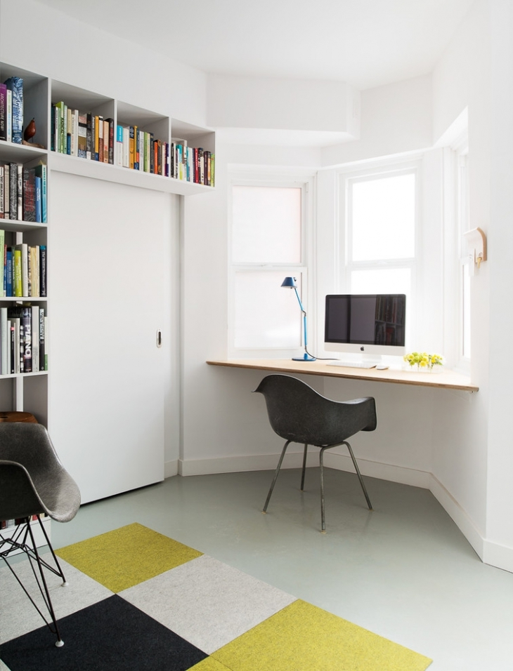 Wall Desk Idea For Space Saving