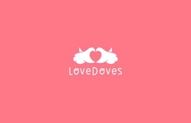 love doves logo design