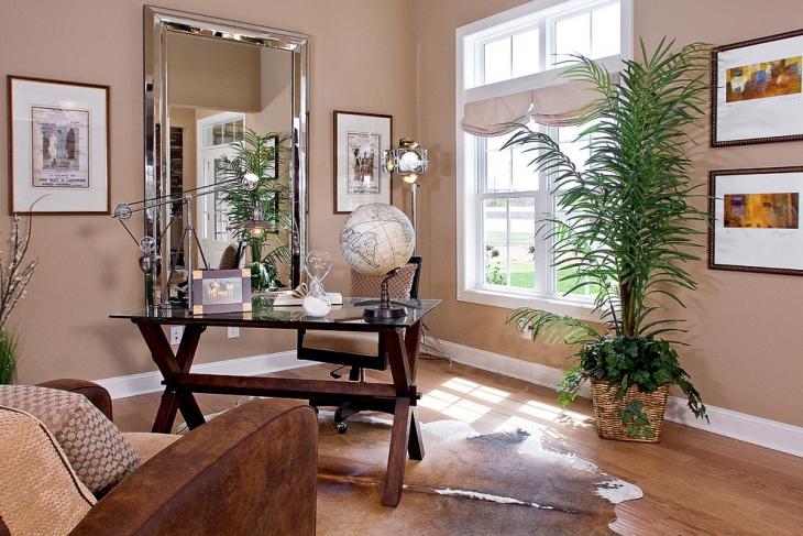simple covet desk design idea