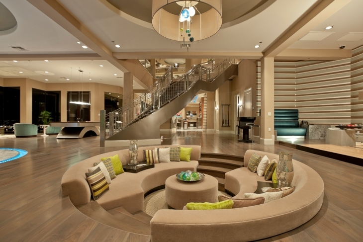 living room pit design