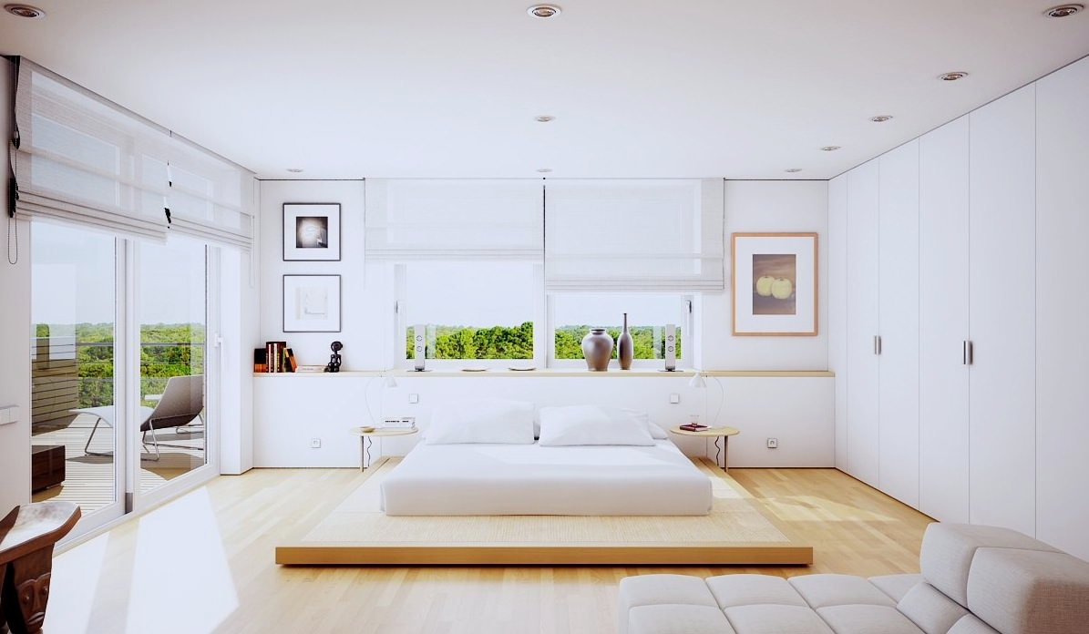 Loft Mastern Bedroom Interior Design