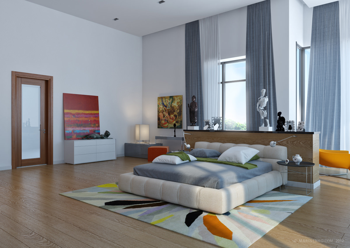 Modern Mastern Bedroom Interior Design