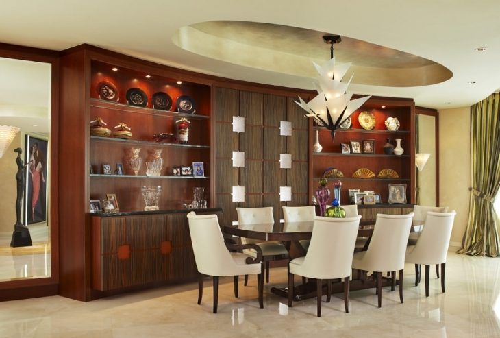 Elegant Dining Room Decor Idea