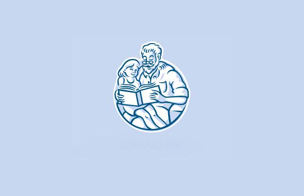 Book Reading Logo Design