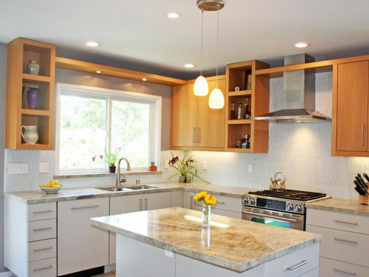 L Shaped Kitchen Cabinet