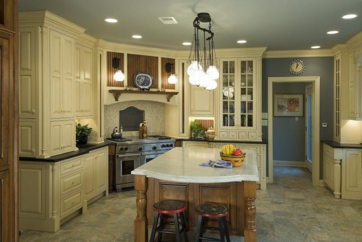 traditional kitchen design picture