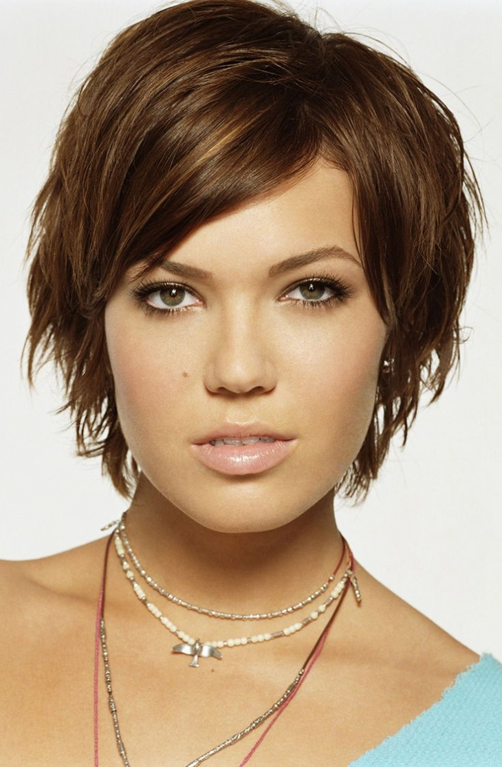 mandy moore choppy hair