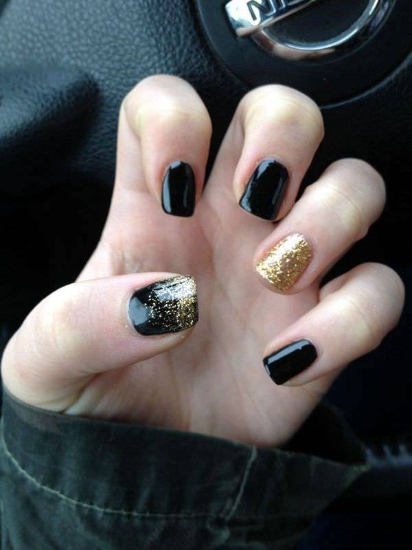New Year Stunning Nail Design