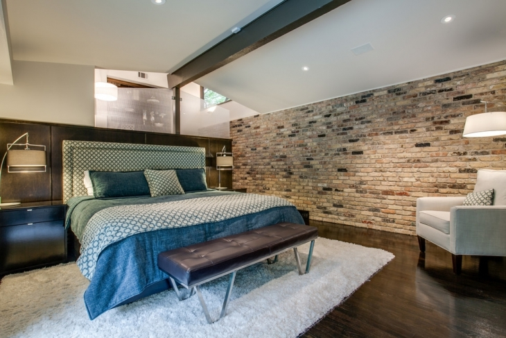 Transitional Bedroom Wall Design