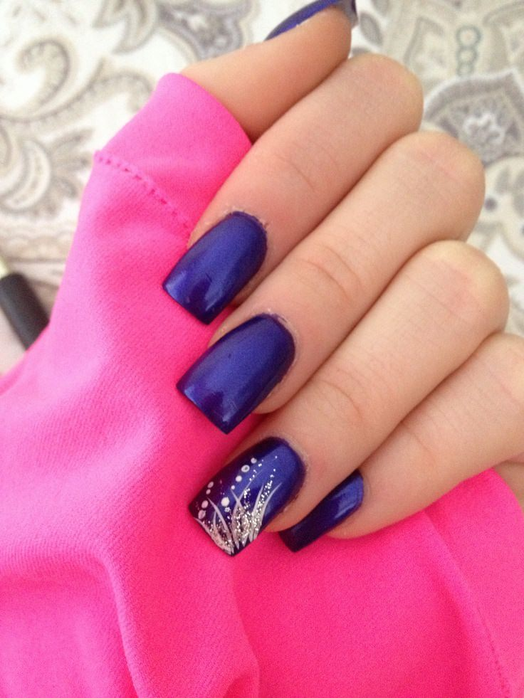 Latest Nails Fashion Of Ombre Nail Designs 2017: 22+ New Years Nail Nail Art Designs, Ideas