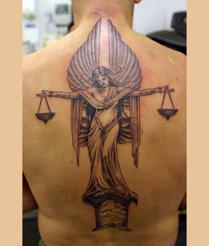 24 Libra Tattoo Designs Ideas