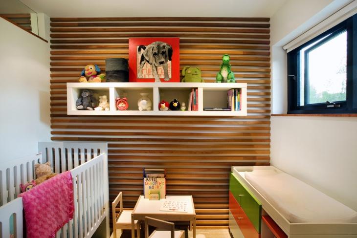 Wood Wall Decor Idea