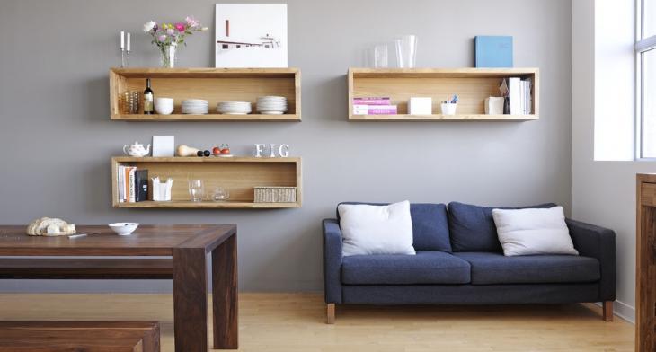 Etonnant Floating Wall Shelf Designs