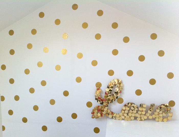 Polka Dot Interior StylingWall Design
