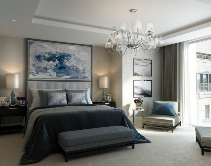 20 bedroom chandelier designs decorating ideas design for Bedroom designs london
