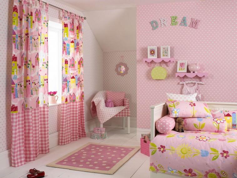 Cute Polka Dot Interior Wall Design