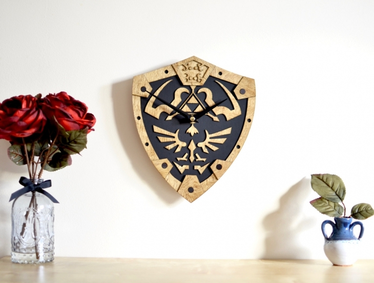 Zelda Inspired Wall Clock Design