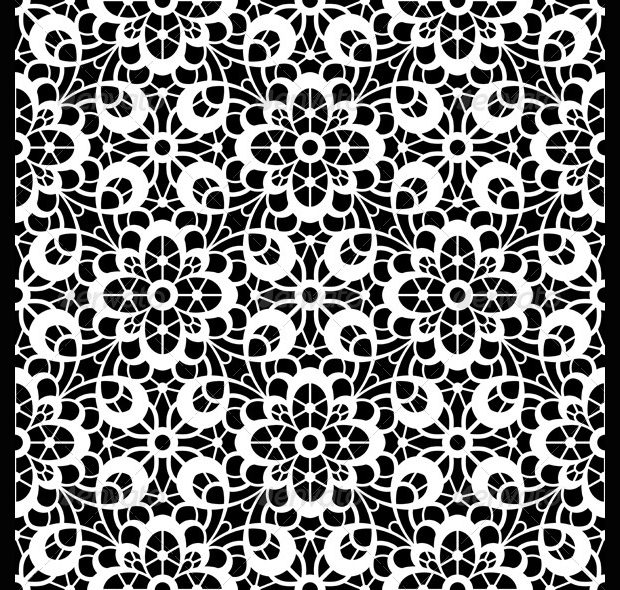 Black and White Crchet Patterns