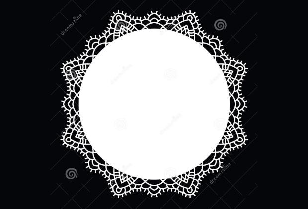 crochet lace flower pattern design