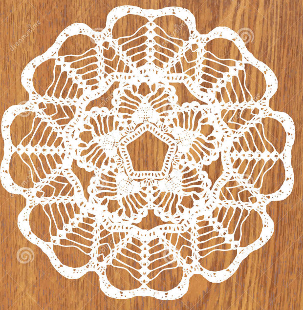 Cute White Color Crochet Pattern