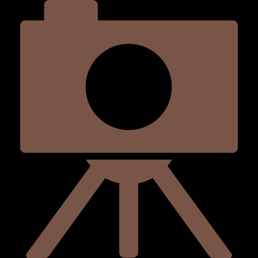 Camera on Tripod Icon