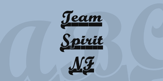 free downloadable team spirit font
