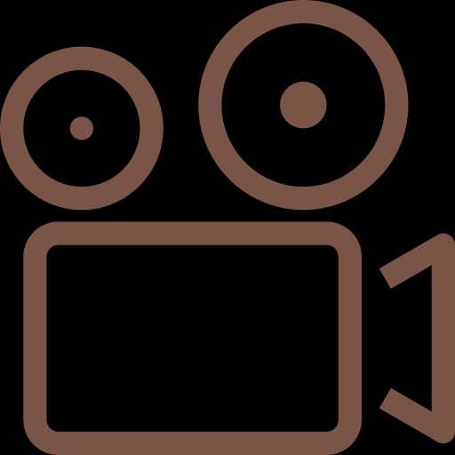 Old Video Camera Icon