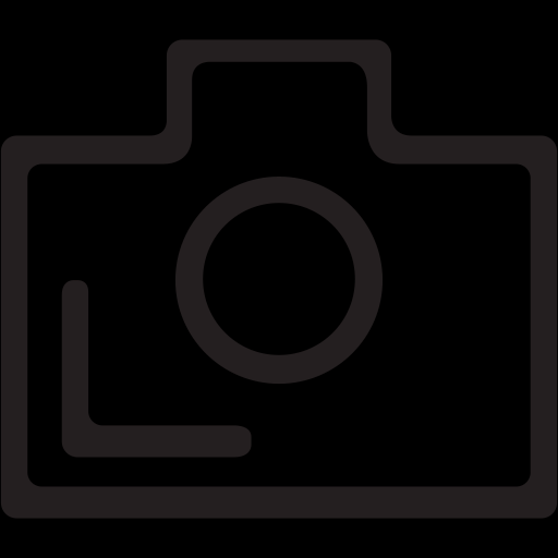 Outlined Camera Icon