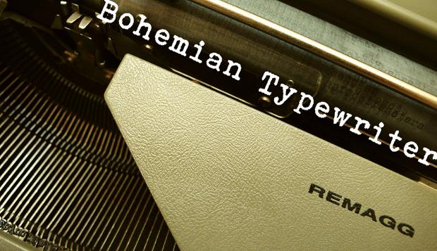 bohemein typewriter font
