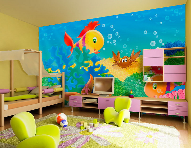 Children Bedroom Decor Idea