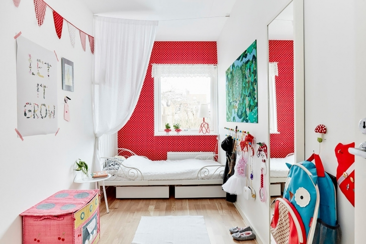 Small Modern Childrens Bedroom