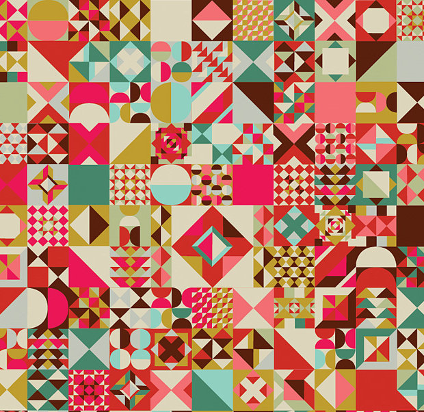 Flat Quilt Design Patterns