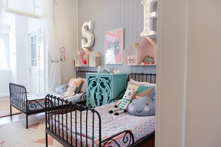 Classic Bedroom For Children